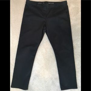 Gap black skinny khakis